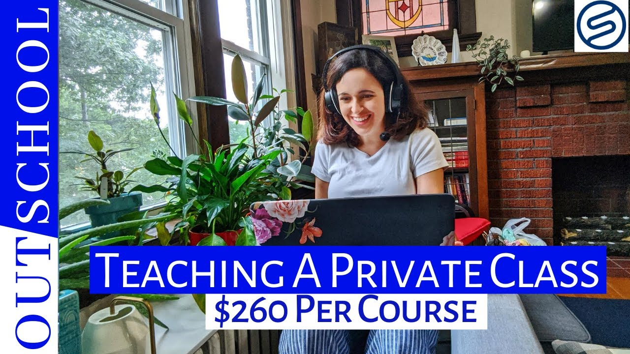 TEACHING A PRIVATE OUTSCHOOL CLASS ($260 for a 25 minute class) - And Cancelling Our Honeymoon
