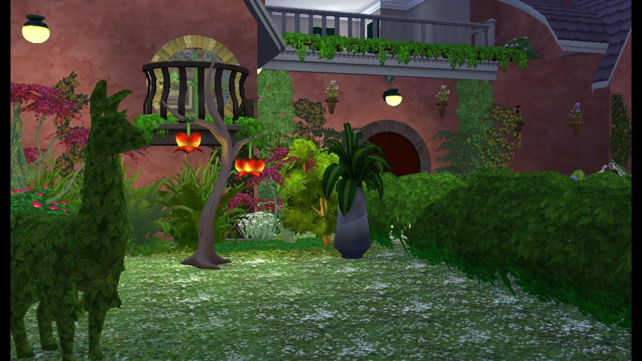 Sims4 casa en el bosque para hadas speed build youtube - Casitas en el bosque ...