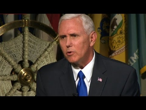 Thumbnail: Pence: I don't see direct talks with N. Korea right now