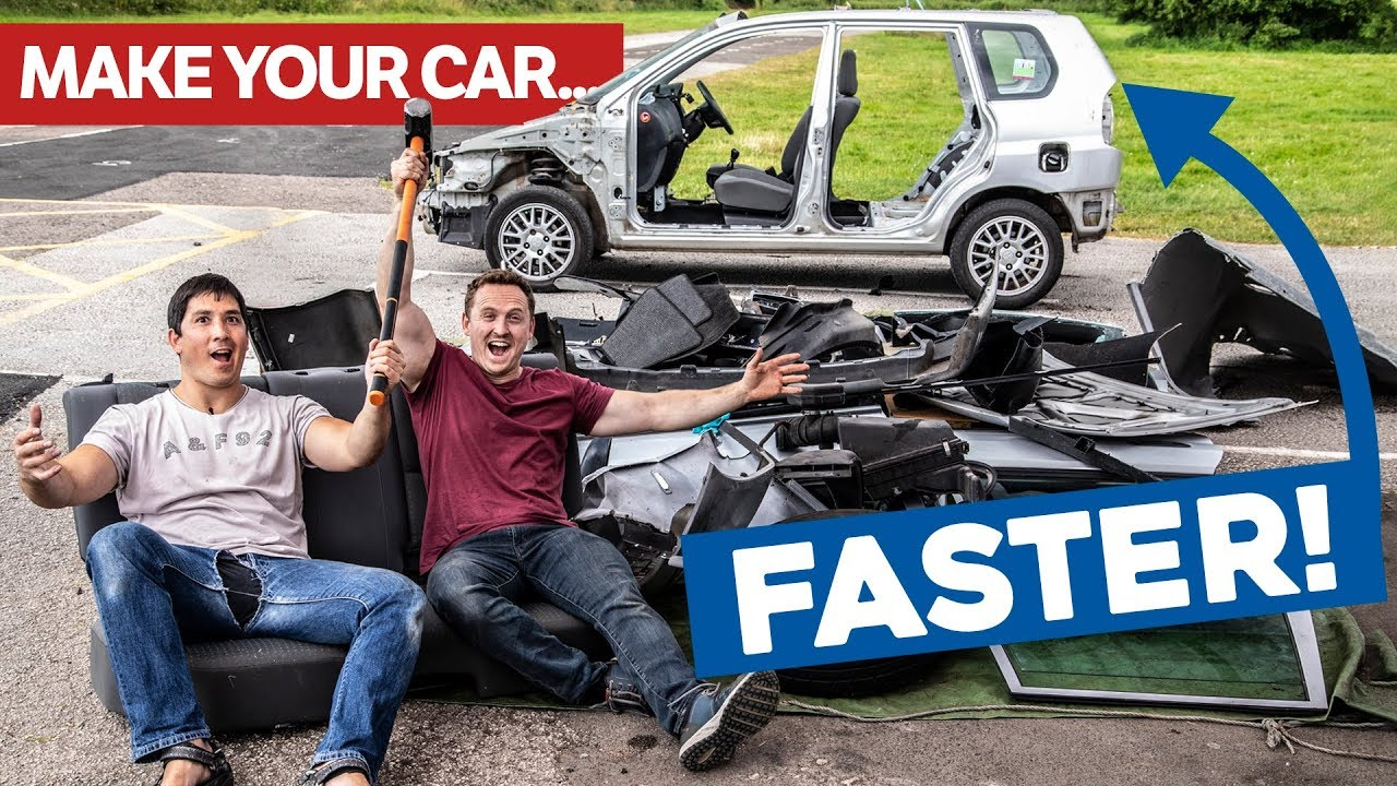 How To Make A Car Faster >> How To Make A Slow Car Fast For Free