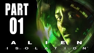 Let's Play Alien Isolation Gameplay German Deutsch PS4 Part 1