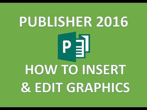 Publisher 2016 - Edit & Format Images - How to Add Insert Rotate Flip Reverse & Change Image Size MS