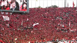 YNCファイナル 20131102 国立霞ヶ丘競技場 後半Kick off We are REDS!!
