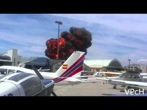 Падение самолета на авиашоу в мадриде