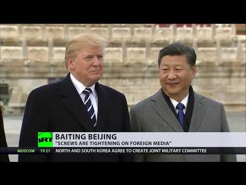 'China threatening US preeminence': America could make Chinese press register as foreign agents