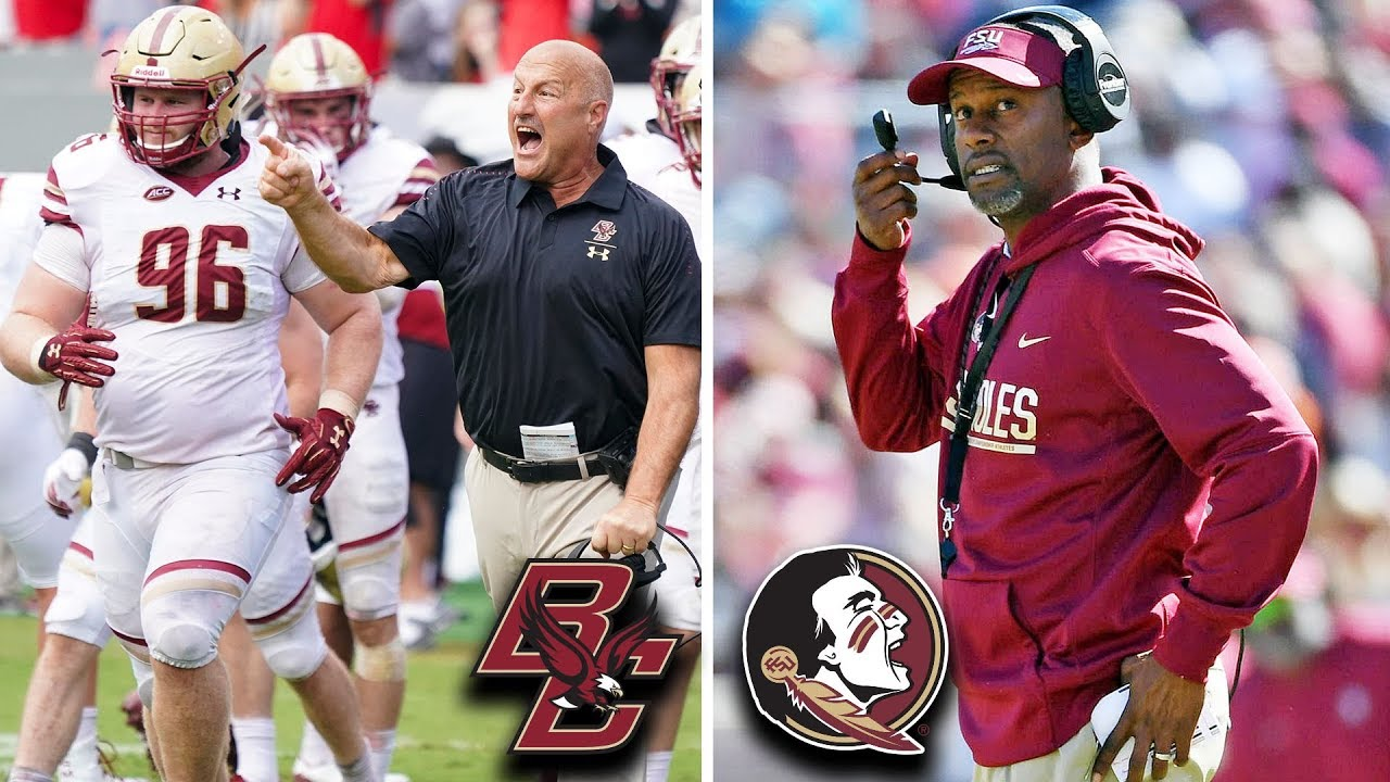Boston College Vs Florida State Football Preview