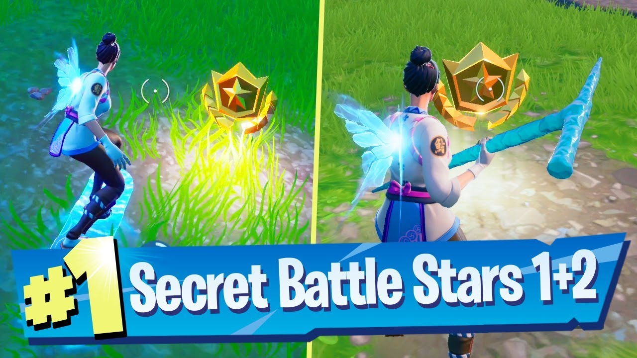 Fortnite Season X Week 1 + 2 Secret Loading Screen Battle ...