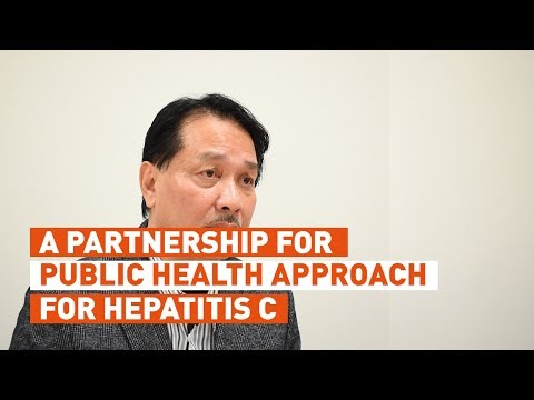 Datuk Dr Noor Hisham Abdullah on partnership for hepatitis C treatment in Malaysia