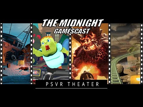 PSVR Theater: The Gallery Ep 1 | Modern Zombie Taxi Co | Star Rage VR | Beer Coaster