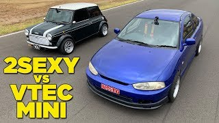 2sexy Vs Vtec Mini (And A New Challenger!!)