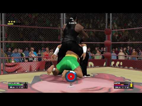 Def Jam 2K17 - Busta Rhymes vs Santos - Da Office