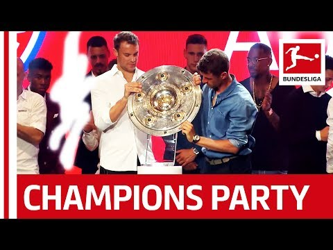 Bayern's Title Party - Heynckes, Neuer And More Celebrate With Wyclef Jean