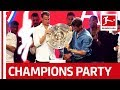 watch he video of Bayern's Title Party - Heynckes, Neuer And More Celebrate With Wyclef Jean