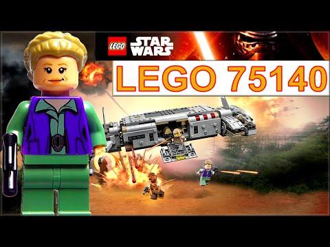 Лего Звёздные войны 75140 Военный транспорт сопротивления. Обзор конструктора LEGO Star Wars