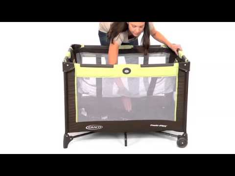 How To Set Up A Graco Pack N Play Youtube