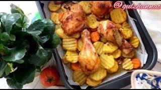 Сочная Курица в духовке! самый вкусный рецепт!