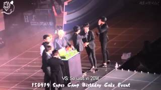 Download Video [JHH][Engsub] 150919 Super camp - Super Junior's birthday wishes MP3 3GP MP4