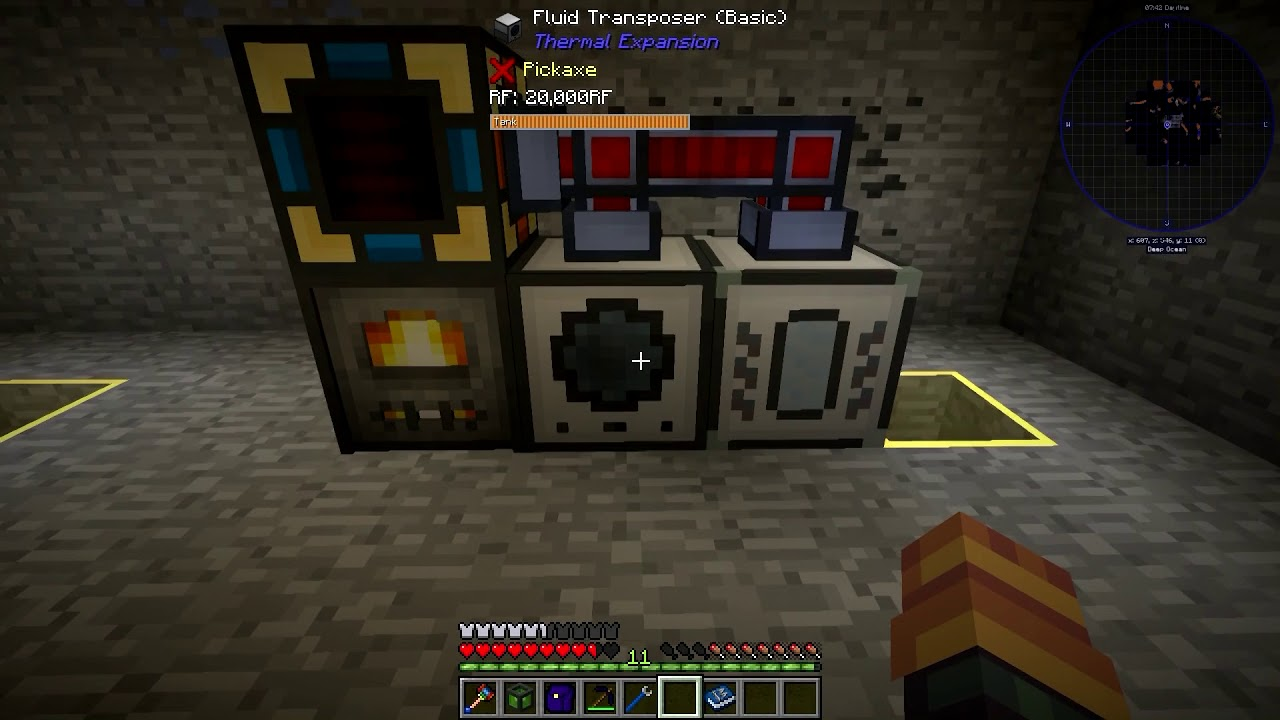 How To Make Starter Passive RF Production: Direwolf20 1 12!