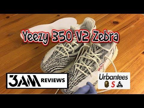 da99d041b8b Yeezy 350 V2 Zebra PK 5th - UrbanTees - YouTube