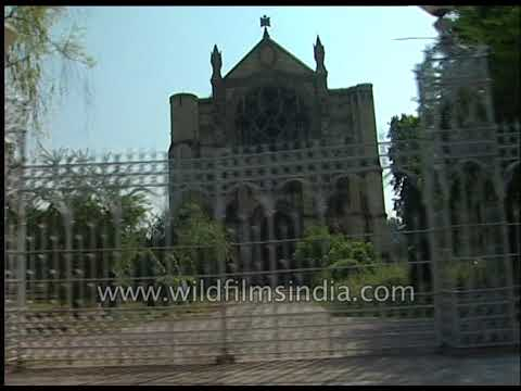 Facade of the All Saints' Cathedral in Allahabad