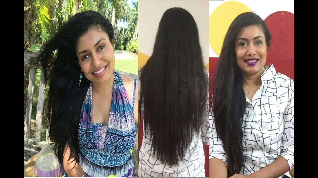 healthy long hair growithcare tips