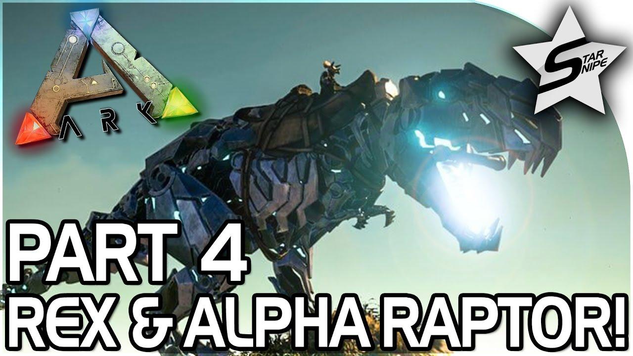 rex attack alpha raptor