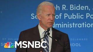 Joe Biden Expected To Announce 2020 Run Next Week | Craig Melvin | MSNBC thumbnail