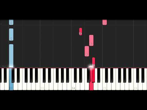Ksi ft Ricegum - Earthquake (SLOW EASY PIANO TUTORIAL INSTRUMENTAL)
