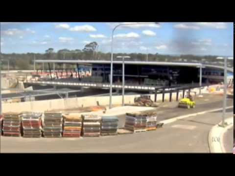 ABC News NSW - South West Rail Link stations complete (21/4/2014)