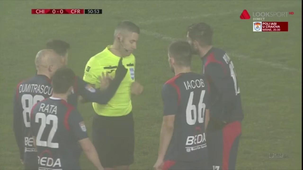 GOOOL! Chindia - CFR Cluj 0-1. Păun deschide scorul din penalty