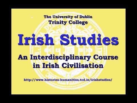 Irish Studies - Trinity Open Day 2013