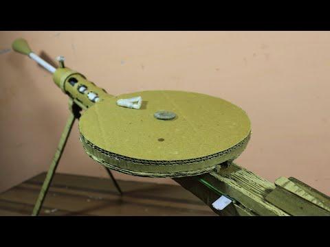 How To Make A DP28 - That Shoot - Cardboard gun