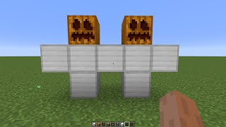 what if you create a DOUBLE GOLEM