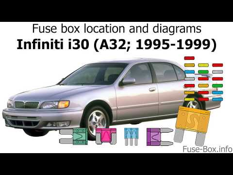 [SCHEMATICS_48IU]  Fuse box location and diagrams: Infiniti i30 (1995-1999) - YouTube | Infiniti I30 Fuse Box Location |  | YouTube