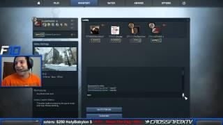AK-47 FIRE SERPENT OPENING!  CRAZY FREAKOUT! |CSGO|