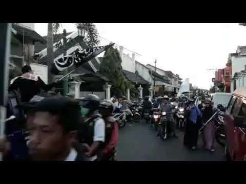 Aksi Damai Bela Kalimat Tauhid di Yogyakarta