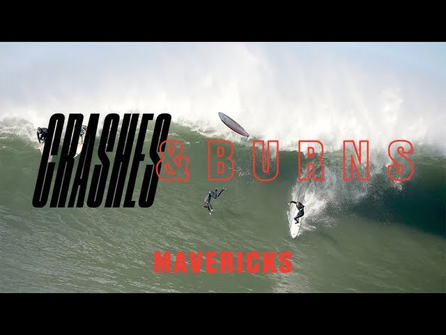 CRASHES AND BURNS: A Mavericks Wipeout Reel