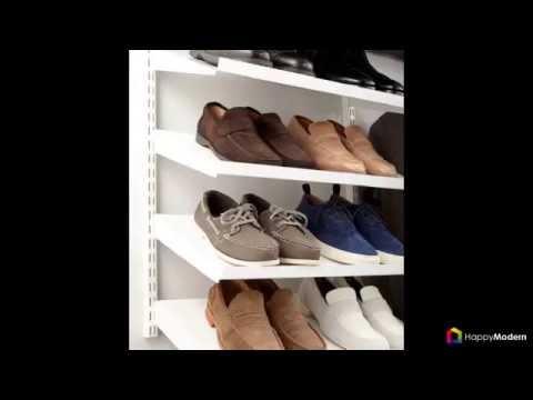 55 идей как хранить обувь в доме полки, подставки, шкафы