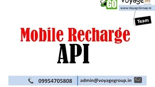 Leading Mobile Recharge API in India