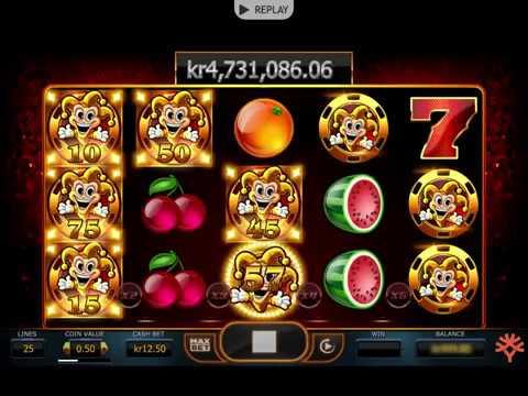Huge Jackpot Win from Yggdrasil's Joker Millions!