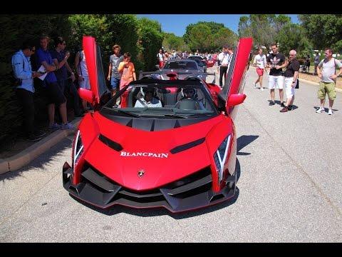 Siêu xe Lamborghini Veneno Roadster Siêu Hiếm Trên Đường Đua