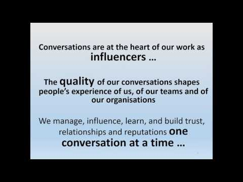 Leading Change and Growth through the Power of Conversation