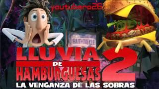 descargar Lluvia de Hamburguesas 2 la venganza de las sobras español latino 720 HD | youtubero26