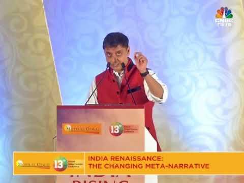 Sanjeev Sanyal Changing meta narrative of Indian Economy