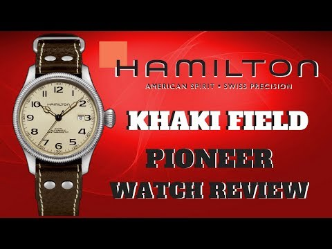 058dd5e5c (4K) HAMILTON KHAKI FIELD PIONEER MEN'S WATCH REVIEW MODEL: H60455593 -  YouTube