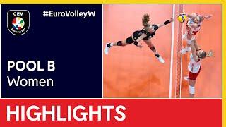 Germany vs Poland Highlights EuroVolleyW