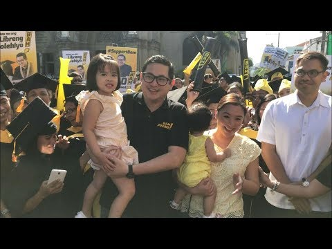 Bam Aquino files COC, seeks reelection in 2019