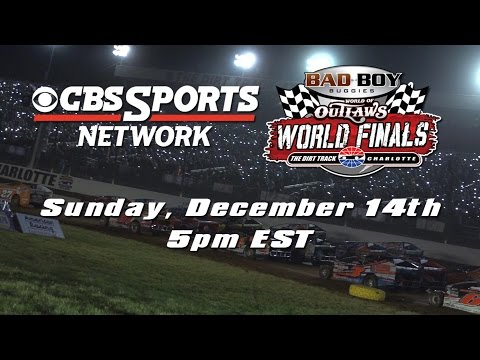 Bad Boy Buggies World of Outlaws World Finals Night #1: Sunday, Dec. 14th on CBS Sports Network