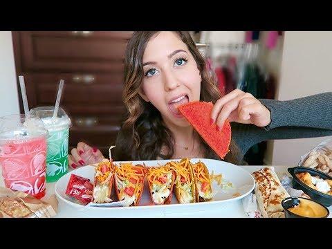 BIG FAT TACO BELL MUKBANG! (Eating Show)