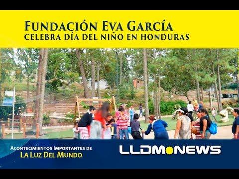 Fundación Eva García celebra día del niño en Honduras.